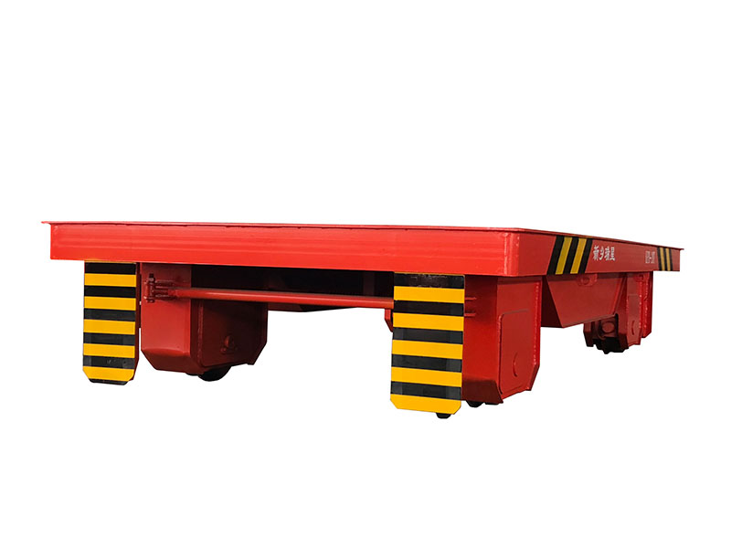KPD低压轨道转弯电动平板车